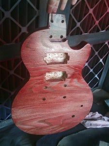 Stain and Finishing
