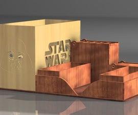 Organizador De Star Wars