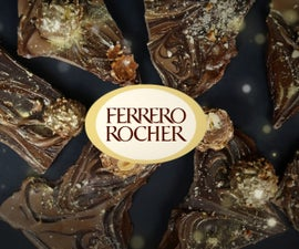 FERRERO ROCHER CHOCOLATE BARK