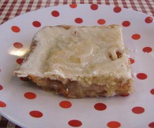 Pi*r*Rectangular Flat Apple Pie