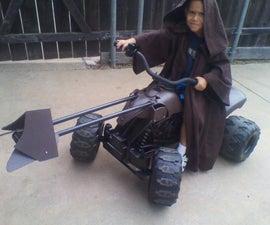 Star Wars Speeder from Power Wheels