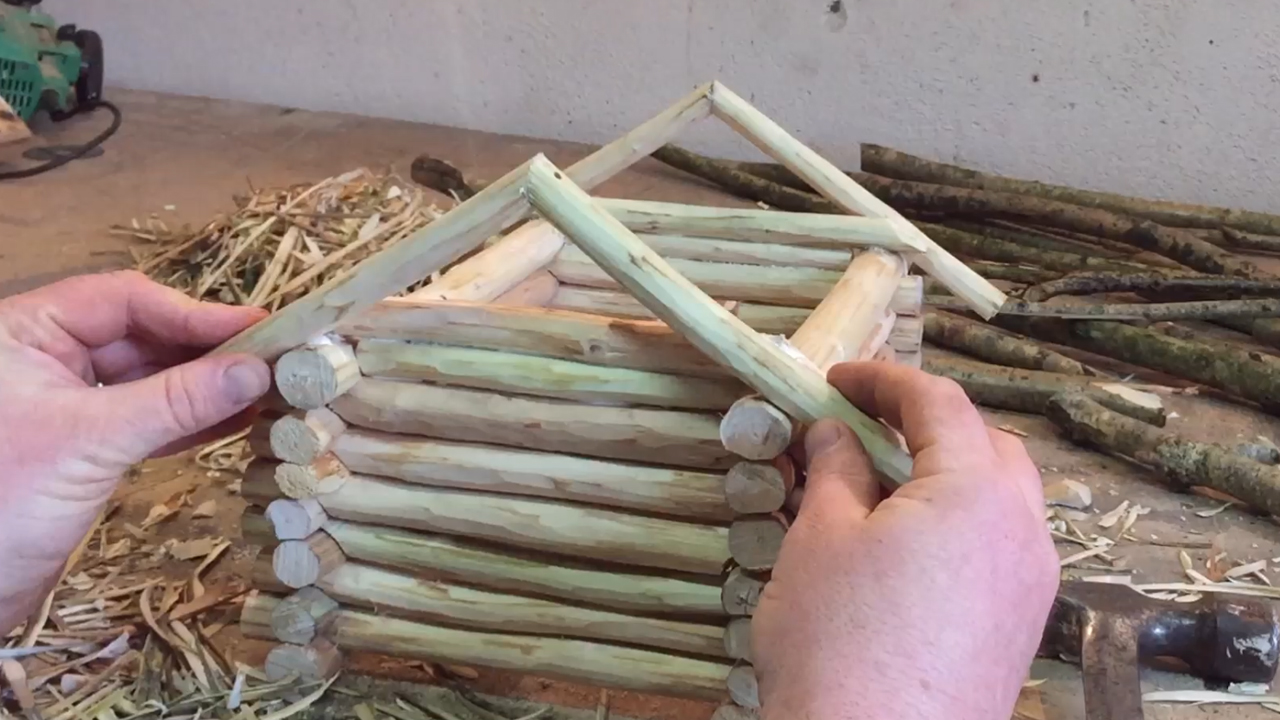 Picture of Setting Out the Roof.