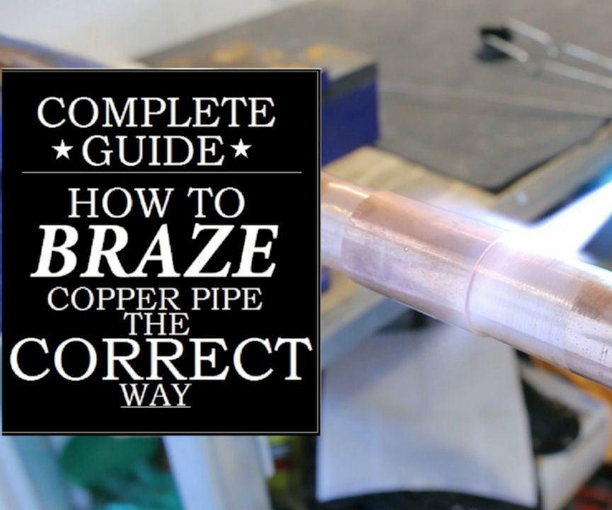 How to CORRECTLY Braze (SILVER SOLDER) a Copper Pipe: 5