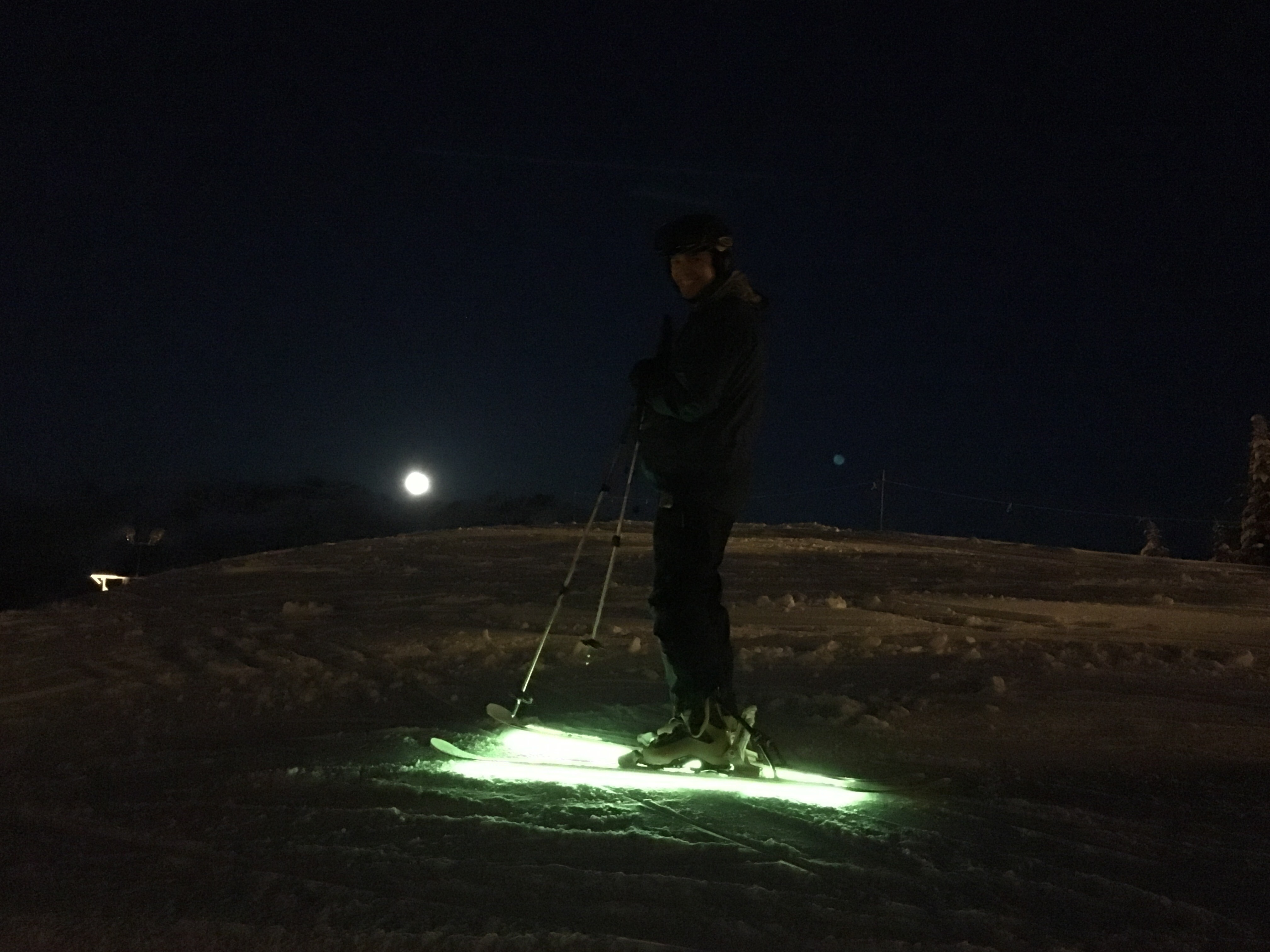 Picture of Interactive Arduino Powered LED Skis