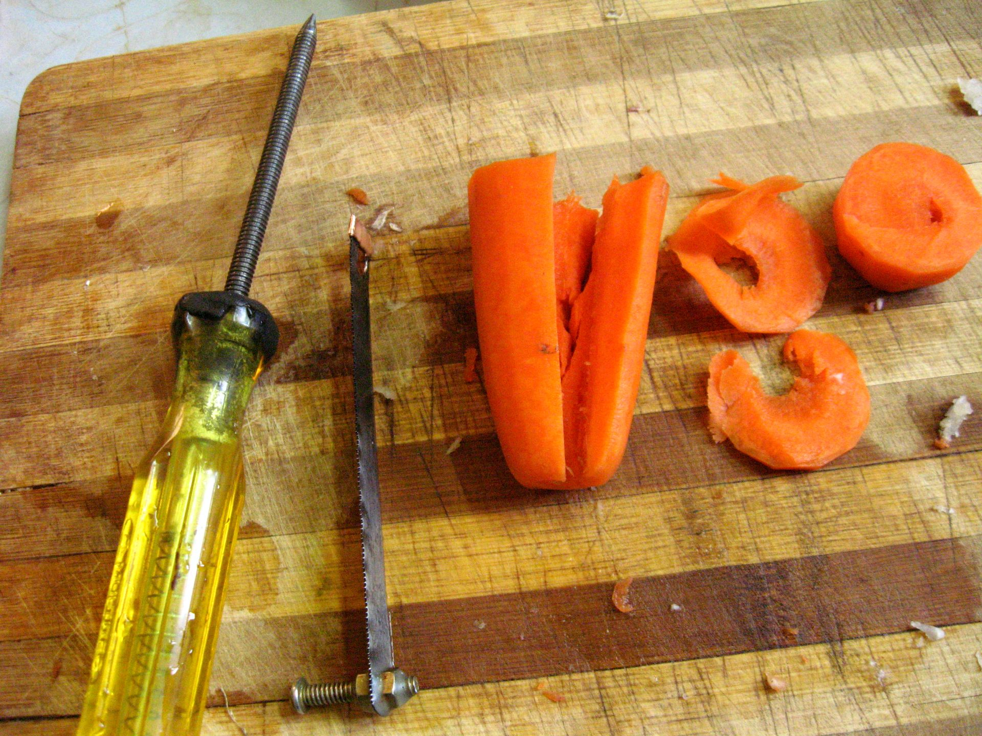 Picture of Vegetables Not Suitable for This Tool
