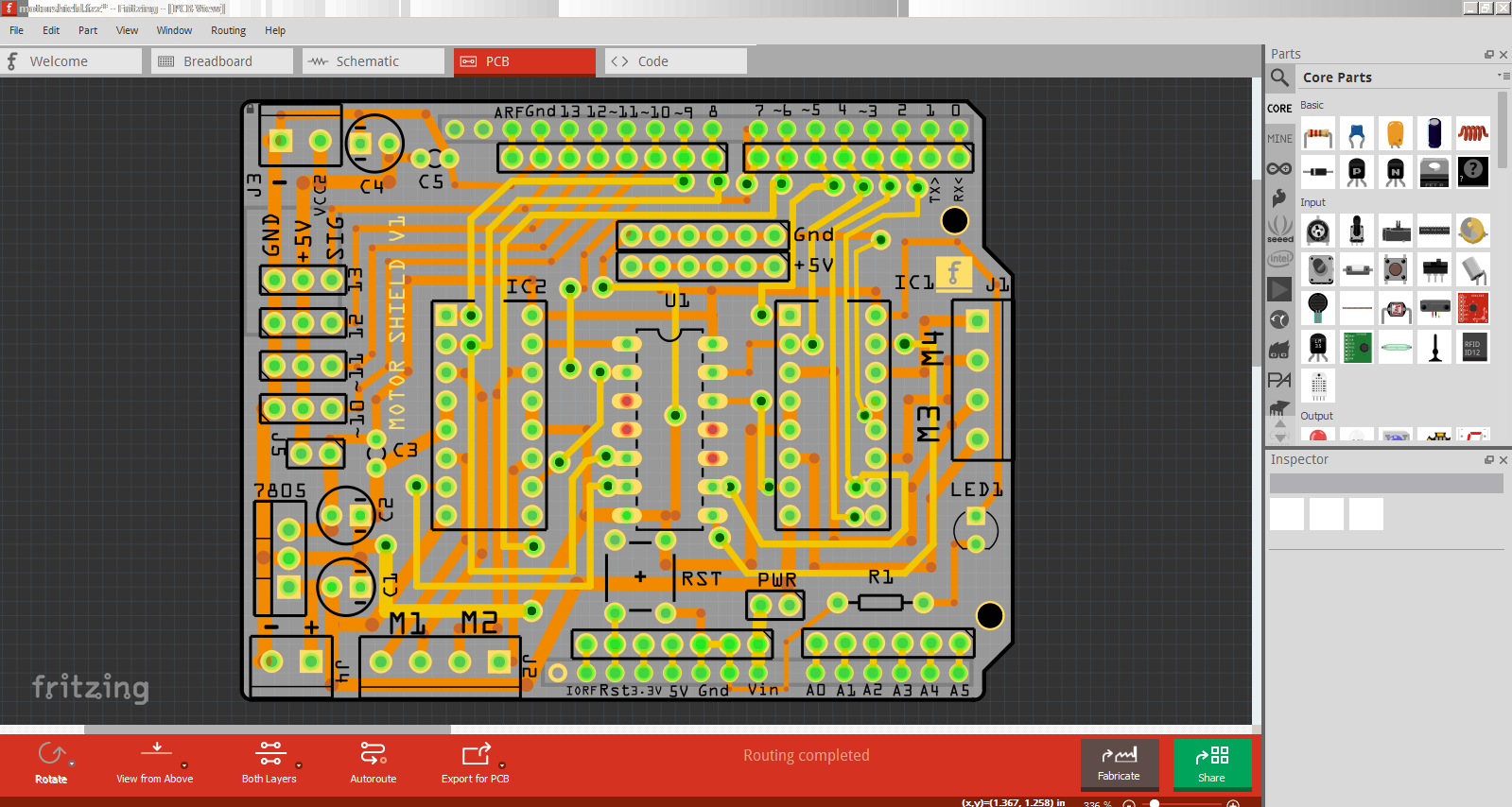 Picture of Making Your Circuit Board Design