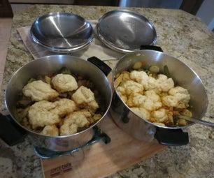 One Pot Meals - Stew & Dumplings (Beef & Chicken)