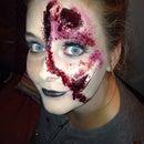 Halloween Torn Face