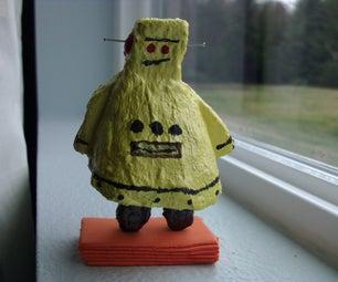 Instructables Robot Figurine