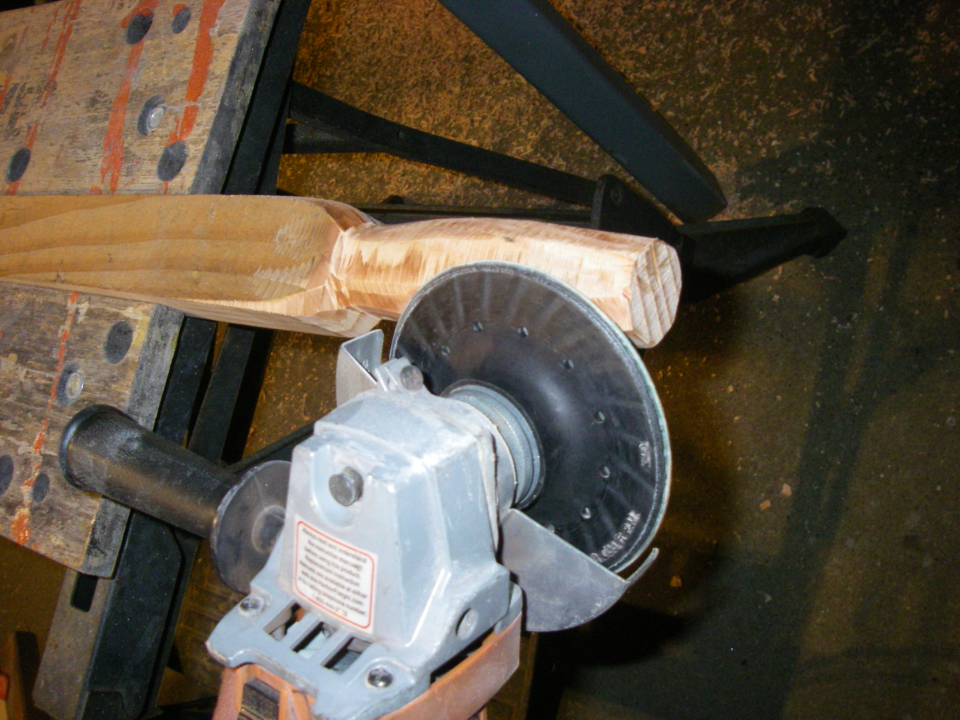 Picture of Finish Shaping the Handles