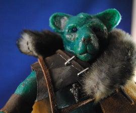 Stop Motion Gummy Bear Warrior Puppet