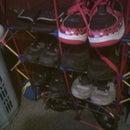 K'NEX shoe rack/holder