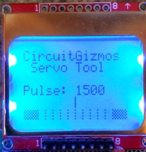LCD and Button Layout