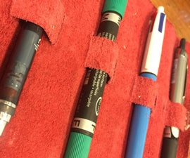 Minimalist Pencil Case/ Pencil Roll