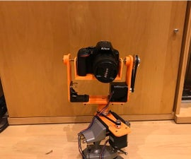 Pan and Tilt Mechanism for DSLR Time Lapses