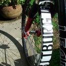 License Plate Bike Fender