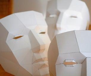 Awesome Polygonal Mask