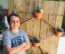 Circulating Self Watering Vertical Planter