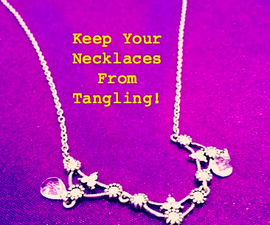 Keep Your Necklaces From Tangling!