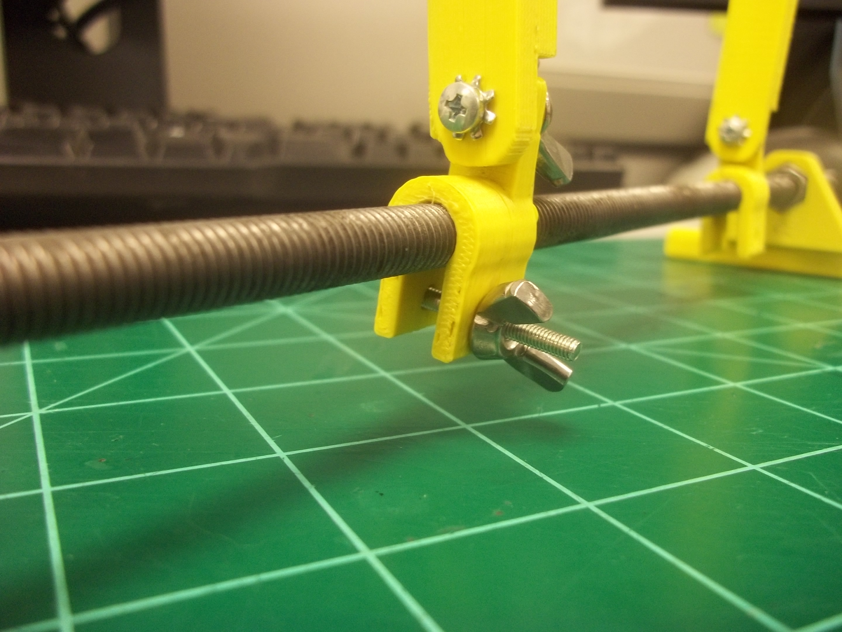 Picture of Add M3 Machine Screw and Wing Nut to Add Pressure to Platform Clip