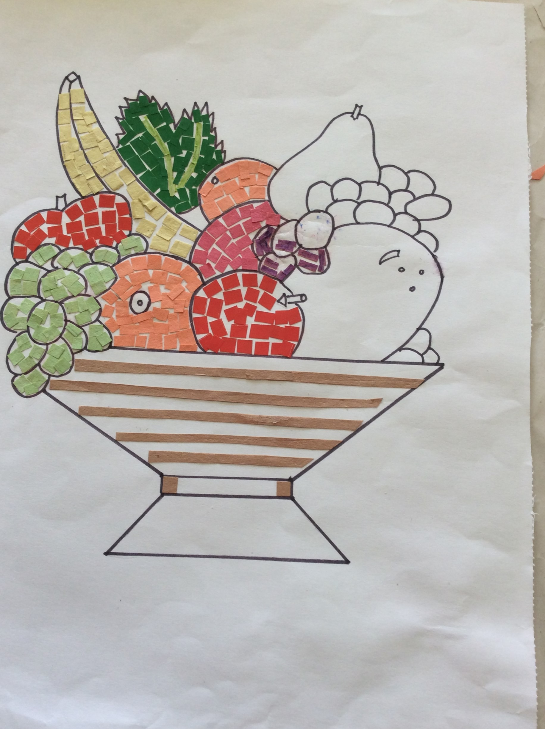 Picture of Lets See How to Do Fruit Basket