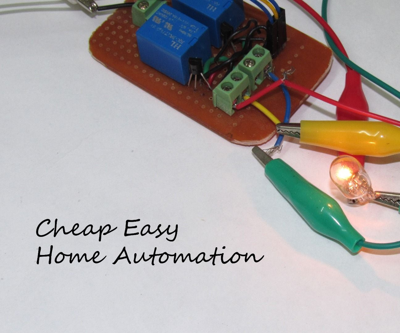 How to Make a Cheap Home Automation System