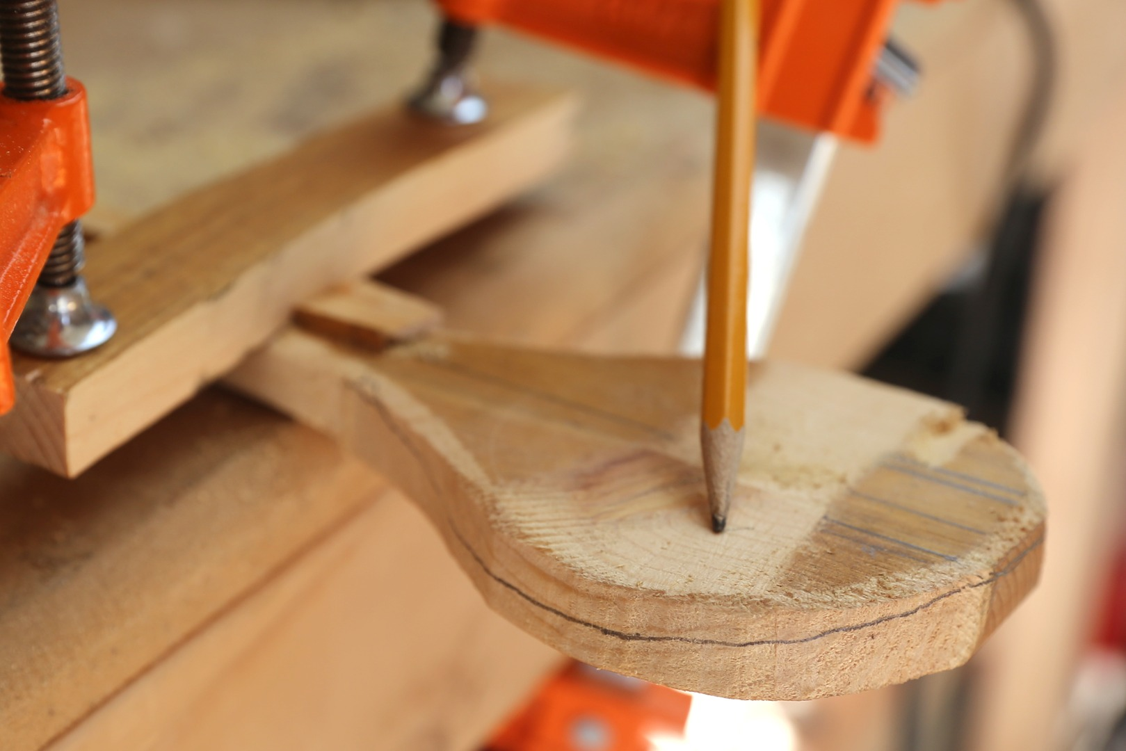 Picture of Rough Shaping With Rasp - Curved Side