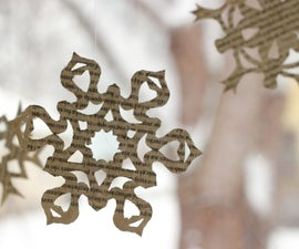 How To: Six Point Paper Snowflake