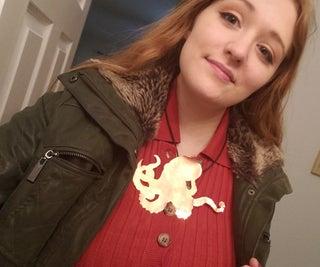 Copper Octopus Necklace