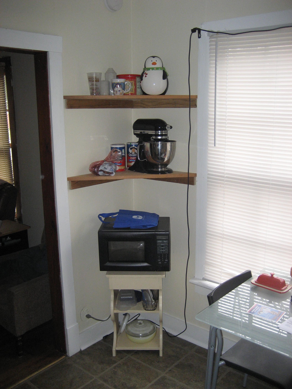 Picture of Simple Corner Shelf