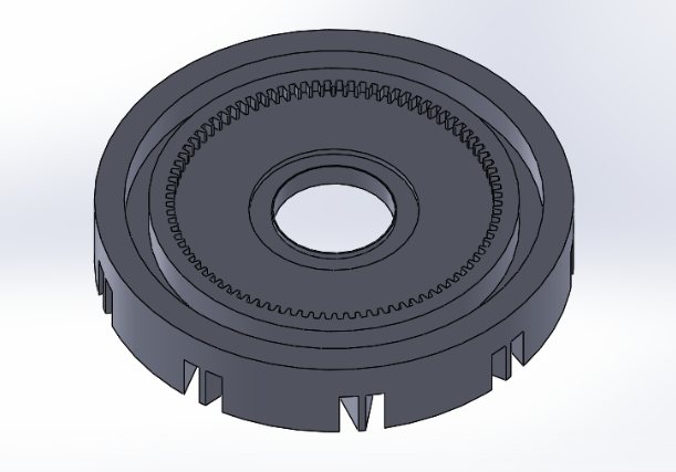 Picture of Design and Assemble a Wheelchair Lever Arm: Annular Gear