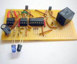 How To Make A Motion Activated On/Off Light or Electronic Appliance