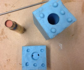 2 part Silicone Block Mould