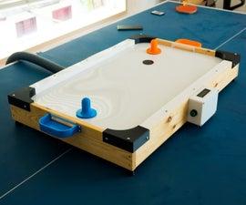 DIY低成本空中曲棍球表