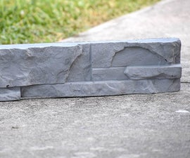 How to Make Concrete Stacked Stones