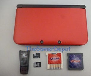 How to Play 3ds Games Using Gateway 3ds Flashcart