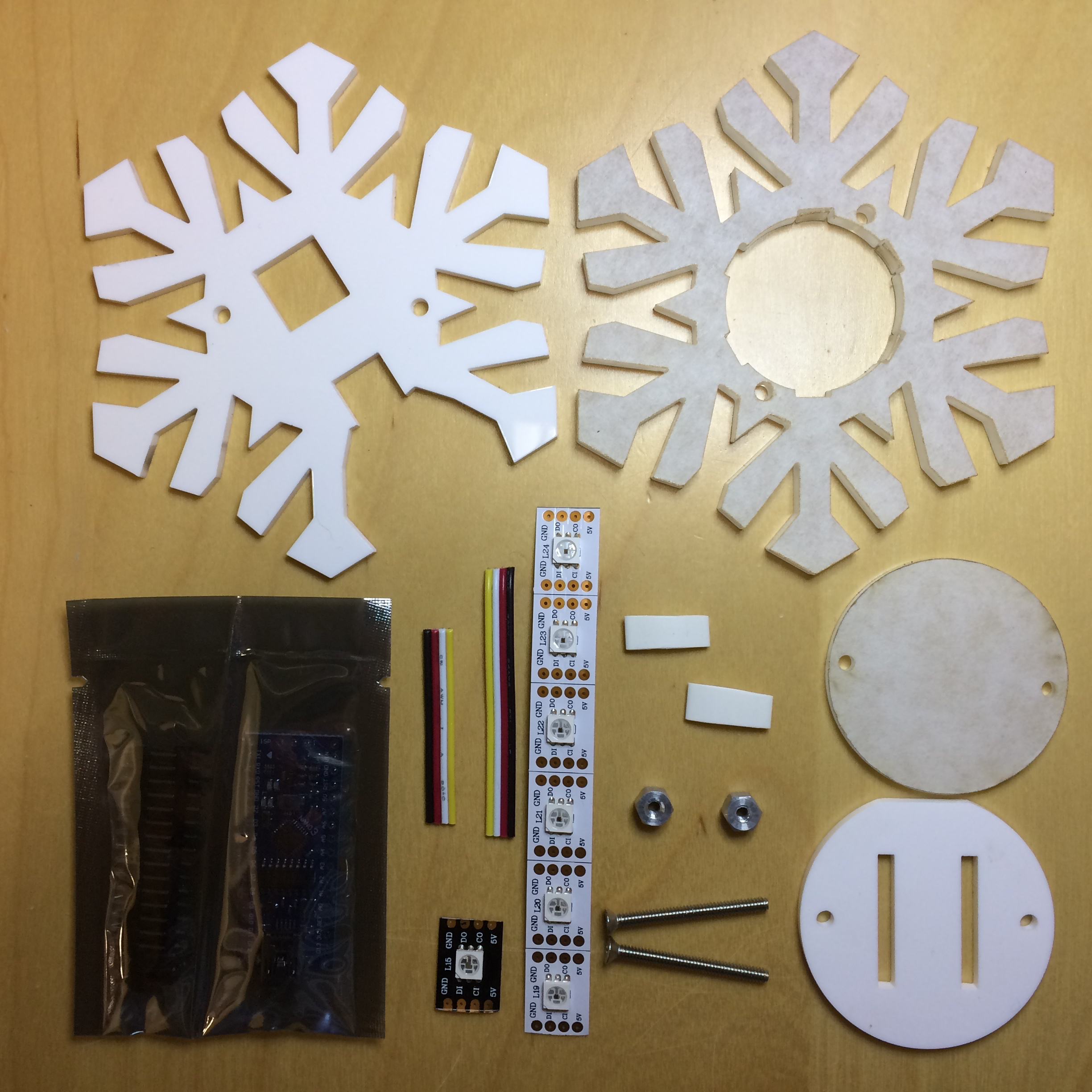 Picture of LED Snowflake