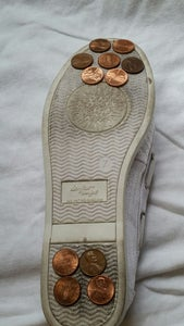 Spare a Few Cents = Tap Shoes