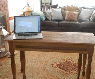 Expandable Formal Dining Table That Seats Ten and Fits in a Closet