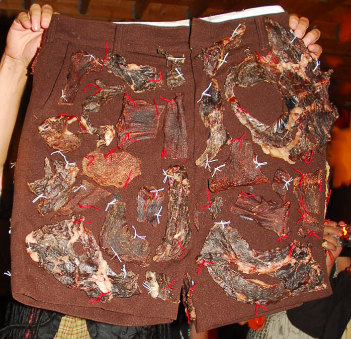Picture of How to Make Meatshorts for Dick Cheney.........or Your Friends