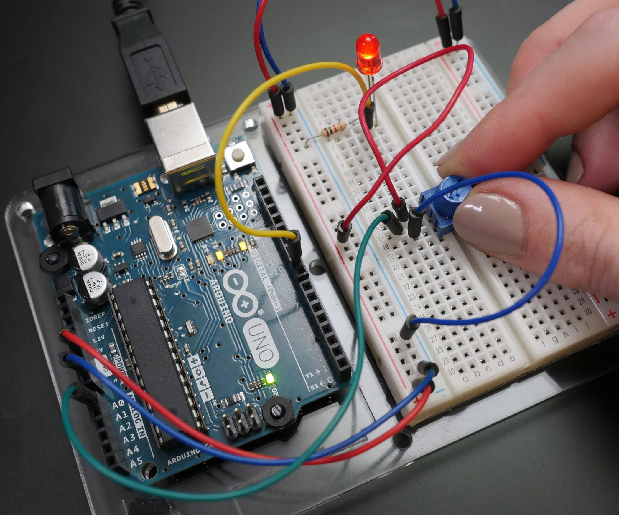 Input Output Where You Build Your Circuit The Used In These Examples Is A