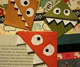 Easy Monster Bookmark
