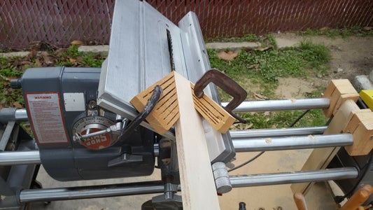Cutting Beveled Edges With the Table Saw