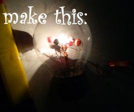 Solar System Light in Bulb