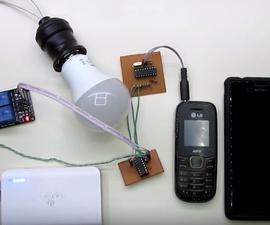 Interruptor Remoto DTMF Con Celular Sin Gastar Un Centavo En Llamadas