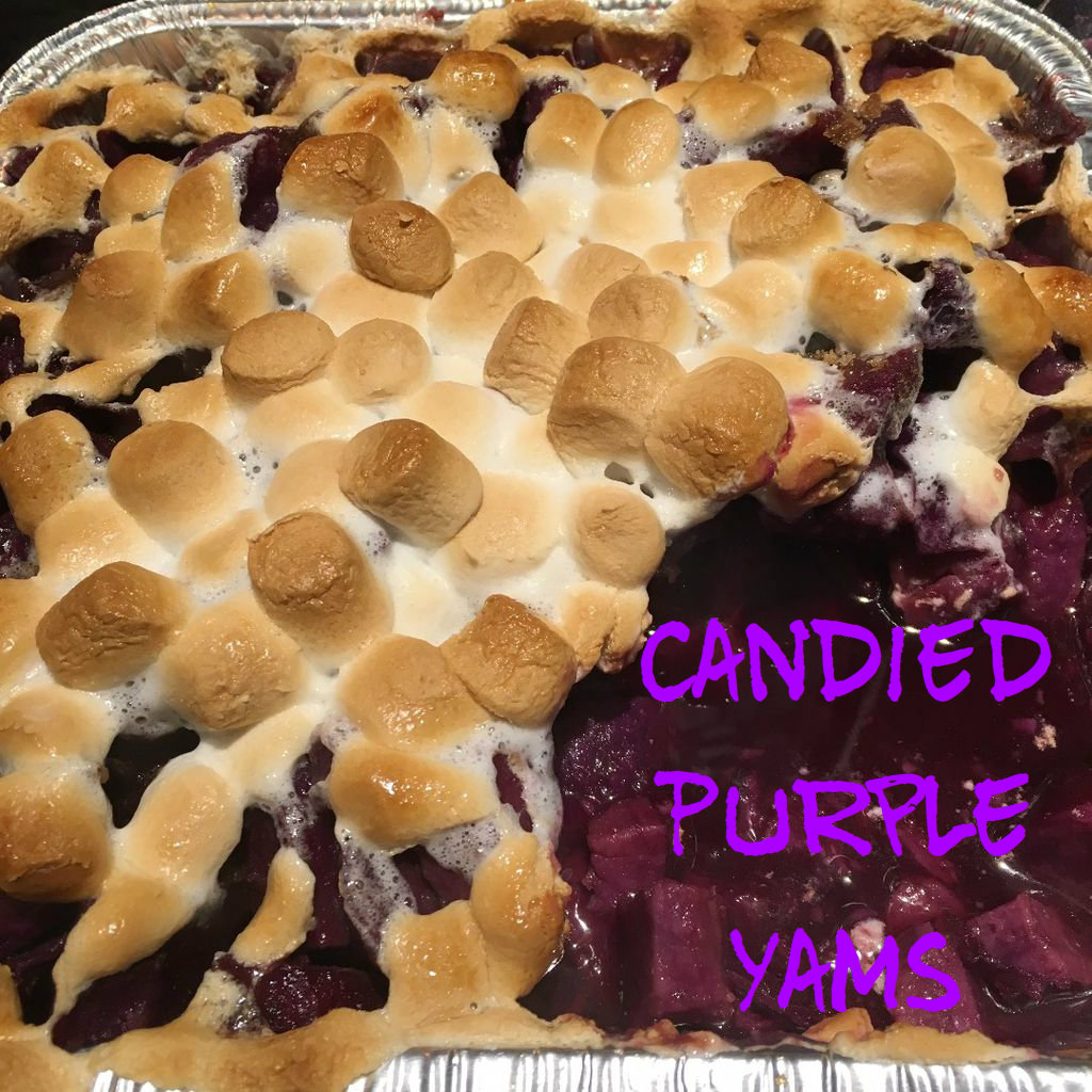 Picture of Candied Purple Yams