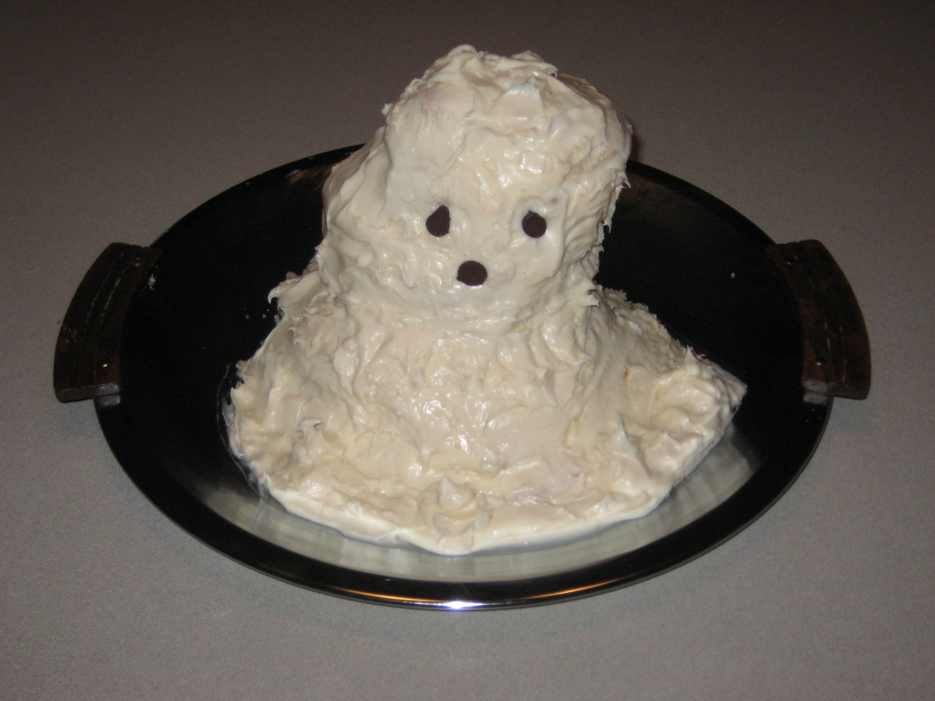 Picture of Creating a Ghost Cake