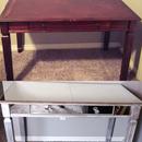 Mirrored Vanity Desk