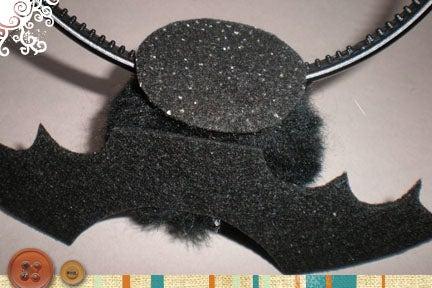 Glue to Headband