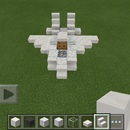 How to build a fighter jet in Minecraft